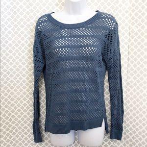 Trina Turk dusty blue sweater